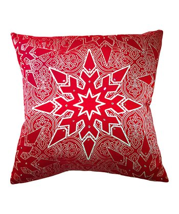 Elegant Star Silk Pillow