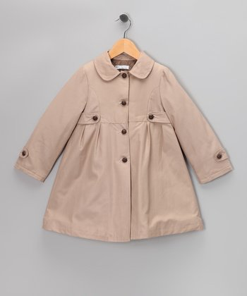 Khaki Trench Coat - Infant