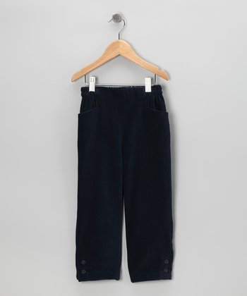 Navy Twill Pants - Infant