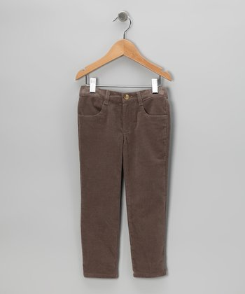 Brown Corduroy Pants - Toddler
