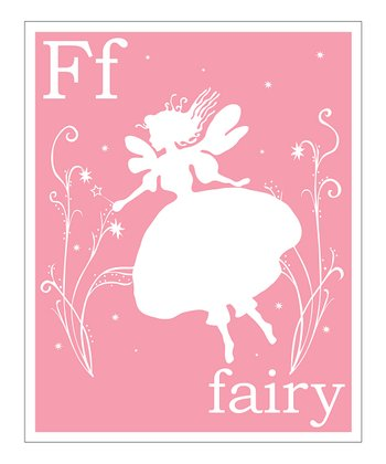 Light Pink 'F' Giclée Print
