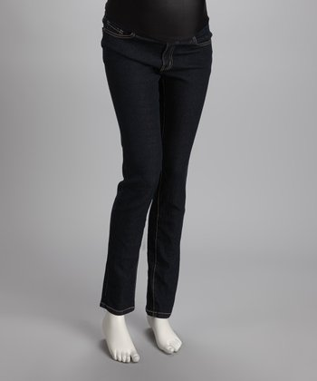 Medium Wash Maternity Jeans