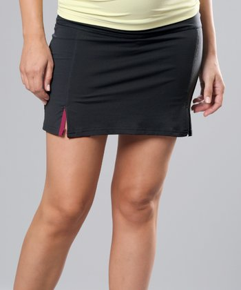 Black & Berry Ace Performance Maternity Skirt