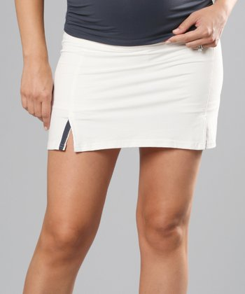 White & Night Ace Performance Maternity Skirt