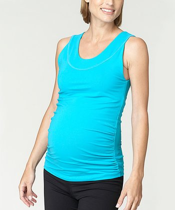 Bluebird Sculpt Maternity Tank Top - Women