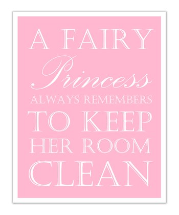Just Bunch Designs Pink Princess 'Clean' Print