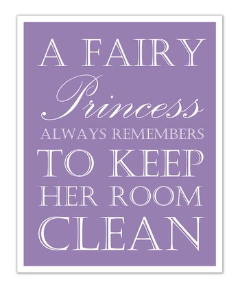 Just Bunch Designs Purple Princess 'Clean' Print