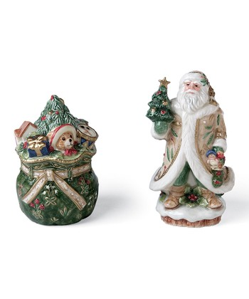Winter Wonderland Salt & Pepper Shaker Set