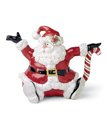 Yuletide Holiday Santa Teapot