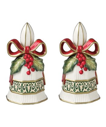 Christmas Bells Salt & Pepper Shakers