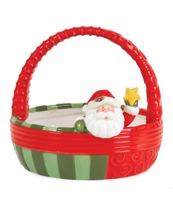 Holiday Folk Basket