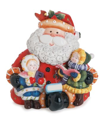 Singing Santa Cookie Jar