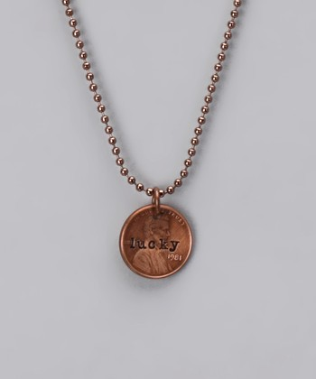 Copper 'Lucky' Penny Necklace