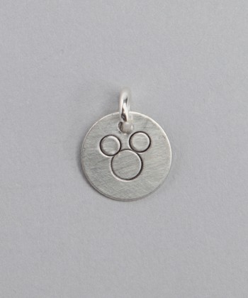 Sterling Silver Vacation Mouse Charm