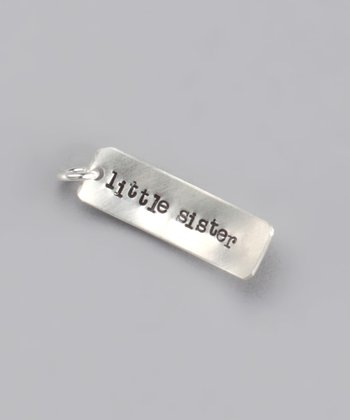 Sterling Silver 'Little Sister' Charm