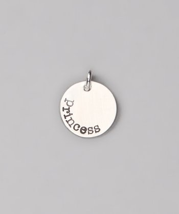 Sterling Silver 'Princess' Charm