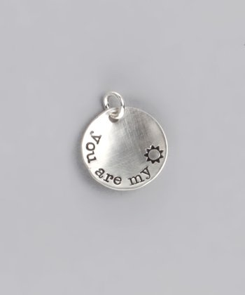 Sterling Silver 'You Are My Sunshine' Deluxe Keepsake Charm