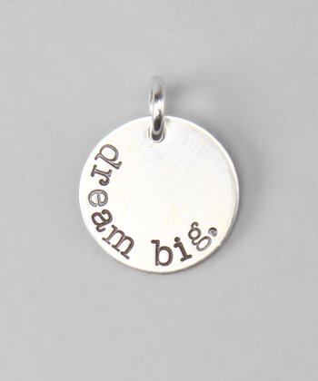 Sterling Silver 'Dream Big' Charm