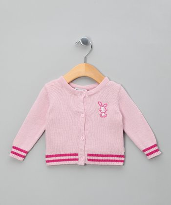 Rose Dream Bunny Knit Cardigan