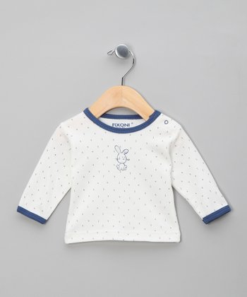 Baby Blue Bunny Top
