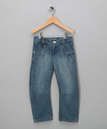 Light Wash Oliver Jeans - Infant, Toddler & Kids