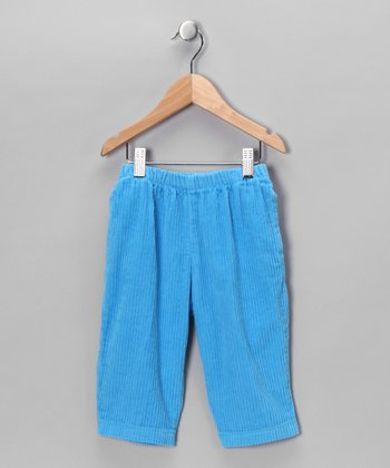 City Blue Corduroy Pants - Infant, Toddler & Boys