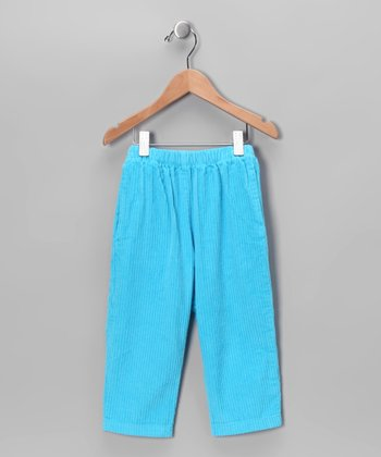 Surf Blue Corduroy Pants - Toddler & Boys