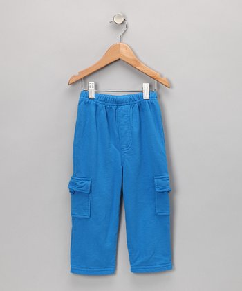 Cobalt Cargo Pants - Toddler & Boys