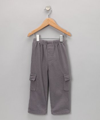 Gray Cargo Pants - Toddler & Boys