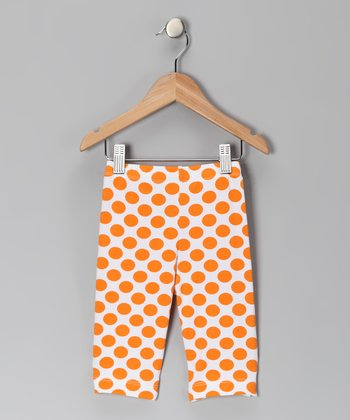 Mango Dot Capri Leggings - Infant, Toddler & Girls