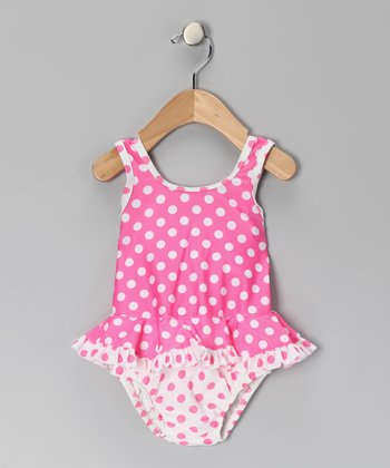 Candy Punch Bow One-Piece - Infant