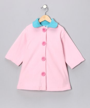 Pastel Pink Swing Coat - Toddler & Girls