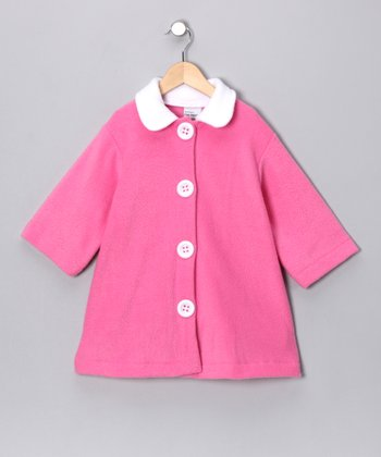 Valentine Pink Swing Coat - Toddler & Girls