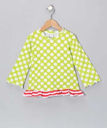 Kiwi Punch Ruffle Top - Infant & Girls