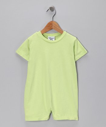 Mint Green Romper - Infant