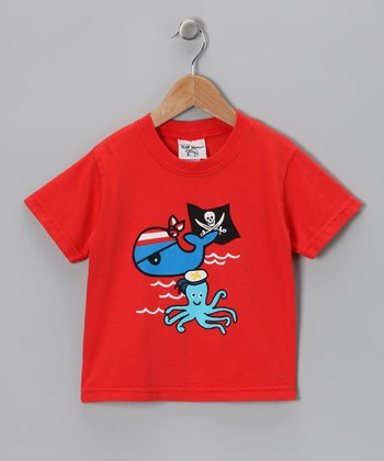 Red Pirate Cay Tee - Infant, Toddler & Boys