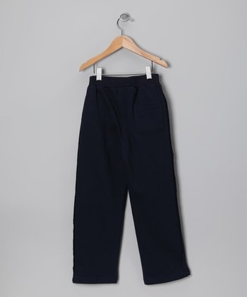 Black Fleece Pants - Toddler & Boys