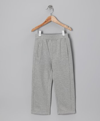 Heather Gray Fleece Pants - Toddler & Boys