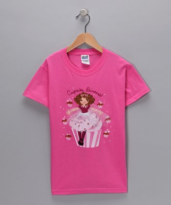 Pink 'Cupcake Princess' Tee - Toddler & Girls