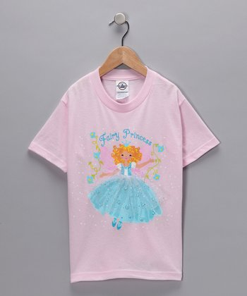 Light Pink 'Fairy Princess' Tee - Toddler & Girls