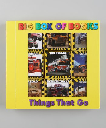 My Big Box of Things That Go Mini Board Book Set