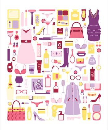 Girls Night Out Print