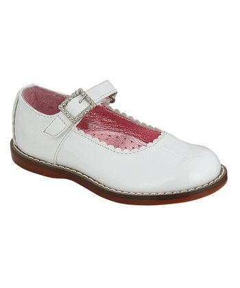 White Patent Natalie Mary Jane