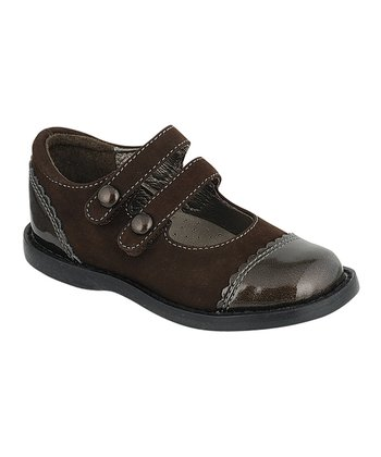 Brown Mackenzie Two-Strap Mary Jane