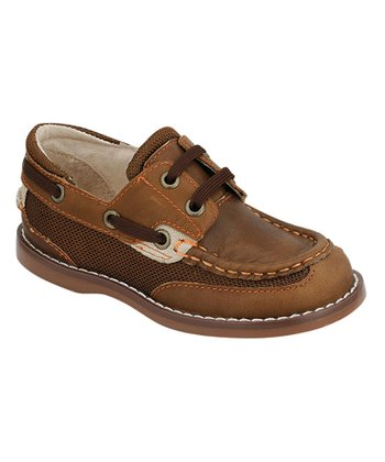 Brown & Orange Dock Boat Shoe