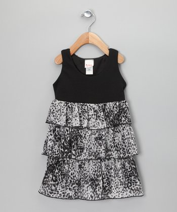 Black & White Snake Dress