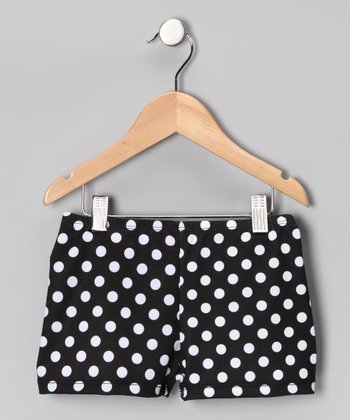Licorice & Pearls Shorts - Girls