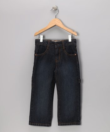 Dark Wash Carpenter Jeans - Infant, Toddler & Boys