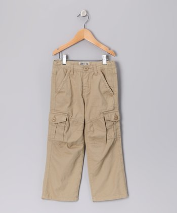 Dark Khaki Cargo Pants - Infant & Toddler