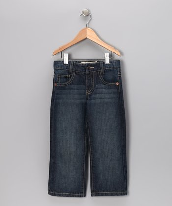 Medium Wash Straight-Leg Jeans - Infant, Toddler & Boys